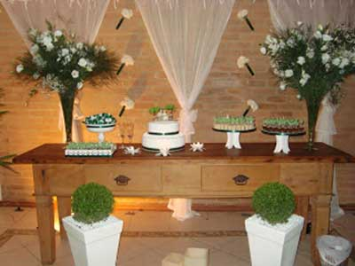 como decorar mesa
