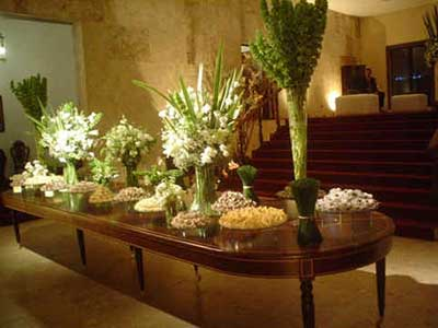 imagens de mesas decoradas para casamento