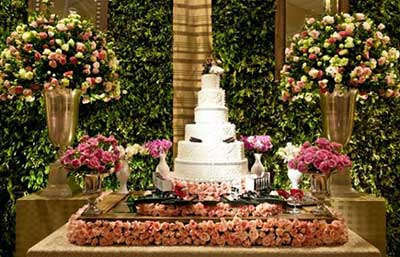 fotos de mesas decoradas para casamento