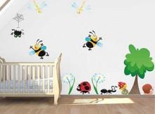 adesivos para paredes infantis