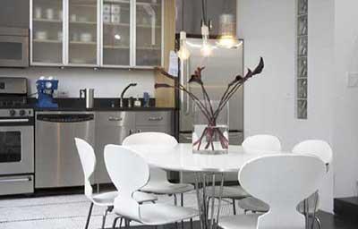 fotos de mesas para cozinhas
