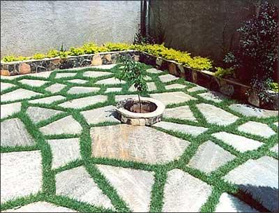 Jardim Com Pedras Fotos Flores Pedras Ornamentais