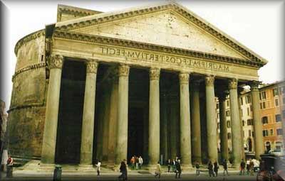 Fotos da Arquitetura Romana