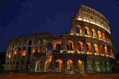 Imagens da Arquitetura Romana
