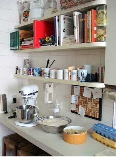 prateleira para cozinha