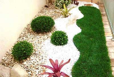 fotos de jardins decorados