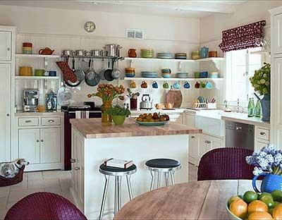 imagem de prateleira para cozinha