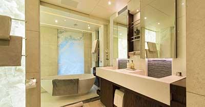 imagens de banheiros de luxo