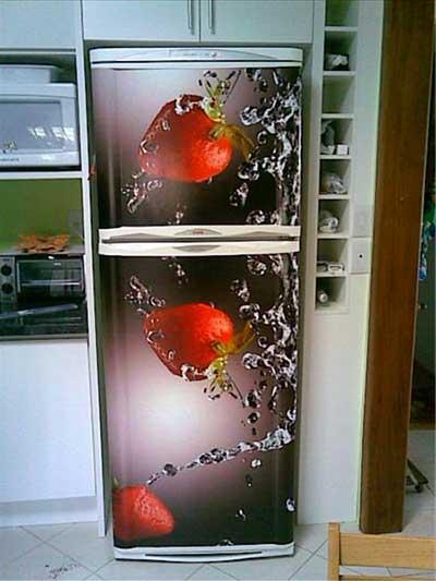 geladeiras decoradas