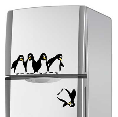 modelos de adesivos para geladeira