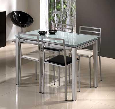 30 modelos de mesas para cozinha pequenas grandes - Mesas pequenas ...