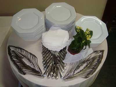 talheres de mesa