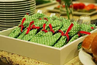 fotos de talheres de mesa
