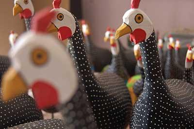 galinhas típicas