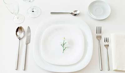 imagens de talheres de mesa