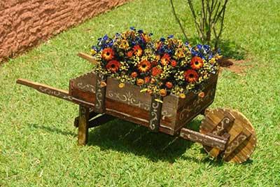 enfeites para jardins