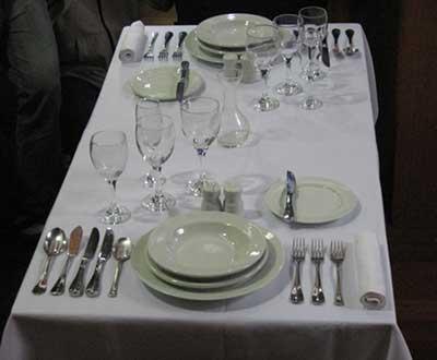 modelos de talheres de mesa