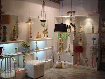 imagens de prateleiras de vidro