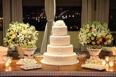 como decorar mesa de casamento
