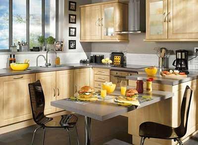 foto de mesa para cozinha