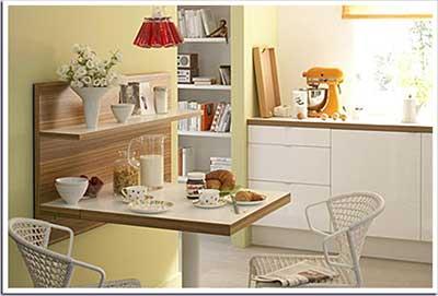 30 modelos de mesas para cozinha pequenas grandes for Mesas para ordenador pequenas