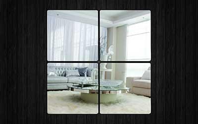 imagens de espelhos decorativos