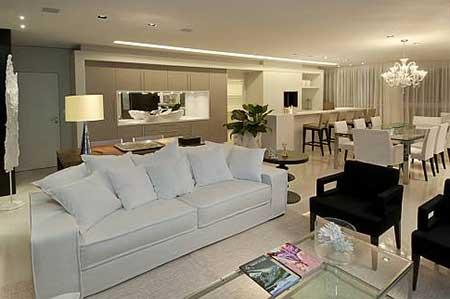 50 apartamentos de luxo decorados fotos dicas imagens for Departamentos decorados