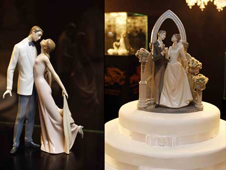 modelos de topo de bolo de casamento