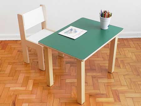 Modelos de mesas infantis para cozinha quarto casa for Mesa infantil carrefour