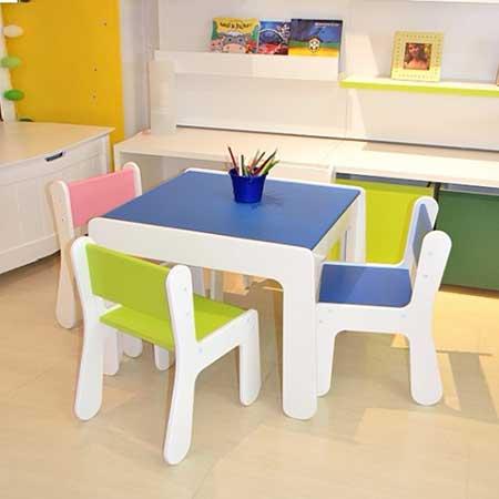 fotos de mesas infantis