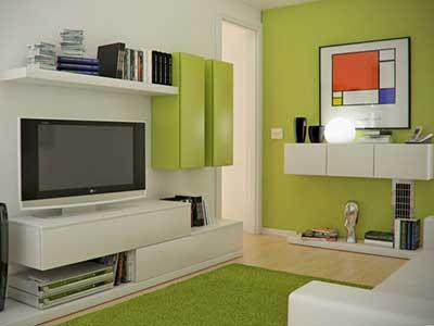 foto de decoração minimalista