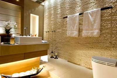 Banheiros decorados tendência 2016 bonito