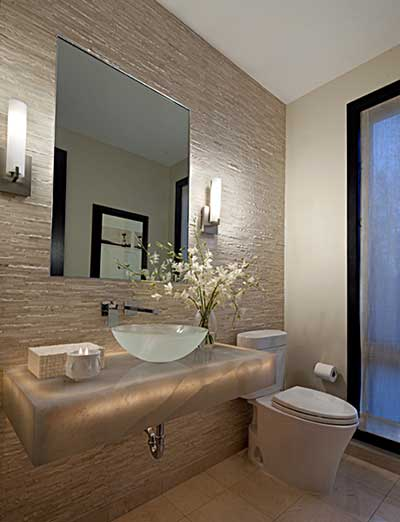 Banheiros Decorados 2016 Fotos, Dicas, Imagens, Inspiração -> Banheiros Modernos Azul