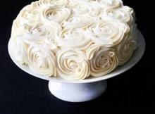 bolo simples de casamento