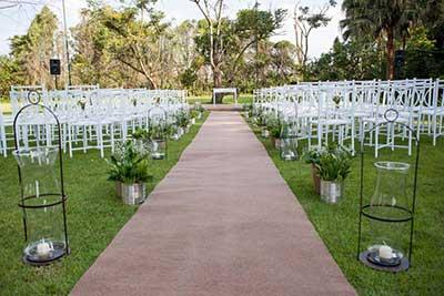 como decorar casamento no campo