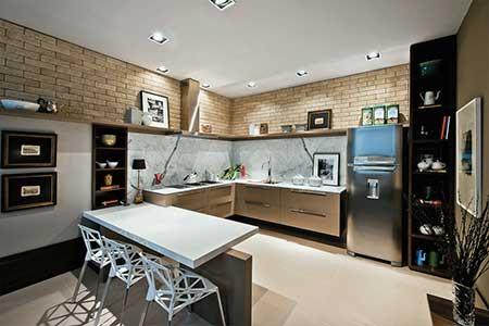 revestimento de cozinha
