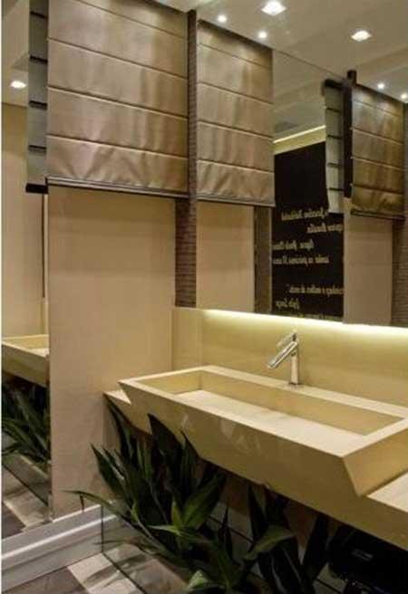 30 Lavabos Decorados Fotos, Decoração, Ideias, Dicas -> Armario De Banheiro Feito Por Marceneiro