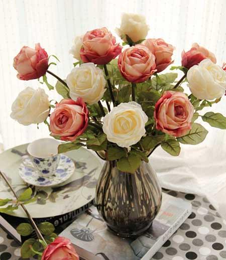 flores em arranjos