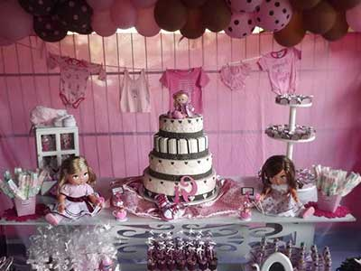 bolo em duas cores
