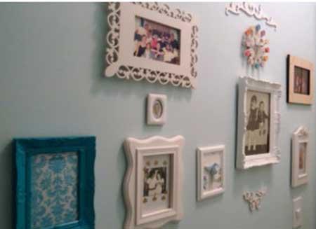 porta retrato de parede