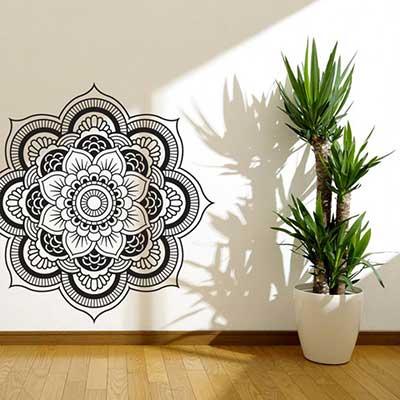 imagens de paredes decoradas