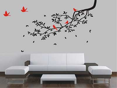 paredes decoradas
