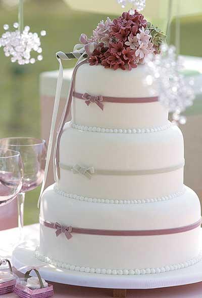 dicas de bolo simples de casamento