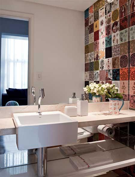 30 lavabos decorados fotos decora o ideias dicas for Fotos lavabos