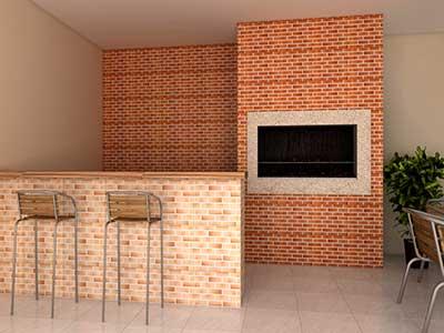 Revestimento de parede externa e interna para apartamento - Fotos de paredes ...