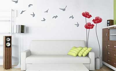 sugestão de decoração de parede