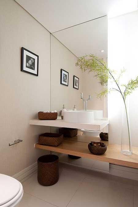 imagens decoracao lavabo : imagens decoracao lavabo:30 Lavabos Decorados: Fotos, Decoração, Ideias, Dicas