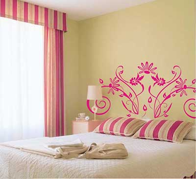 fotos de paredes decoradas