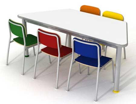 modelos de mesas infantis