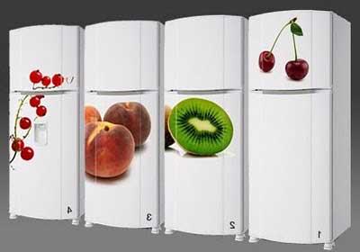 decoração da geladeira